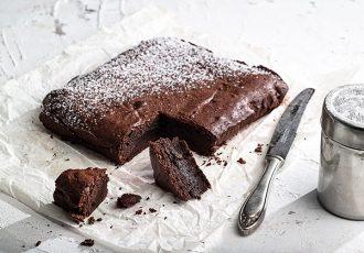 ευκολο μπράουνις με σοκολατα brownies σοκολατας συνταγη αργυρω