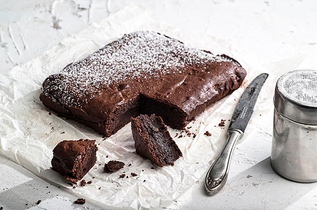 Το ωραιότερο μαστιχωτό brownies με πολύ σοκολάτα