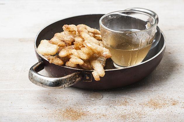 Τραγανά λουκουμαδάκια σε αρωματισμένο σιρόπι-featured_image