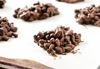 εύκολα σοκολατάκια με κορν φλέικς βραχάκια