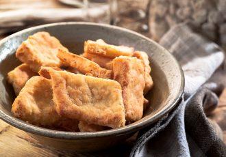 αλμυρά μπισκότα με τυρι
