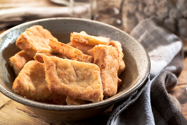 Αλμυρά μπισκότα με τυρί