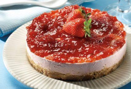 Τσιζκέικ (cheesecake) φράουλα-featured_image