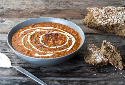Ντοματόσουπα με ζυμαρικά της Αργυρώς-featured_image