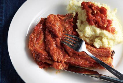 Χοιρινά μπριζολάκια με φανταστική σάλτσα-featured_image
