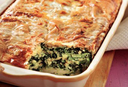 Χορτόπιτα σουφλέ με σπιτικό φύλλο-featured_image