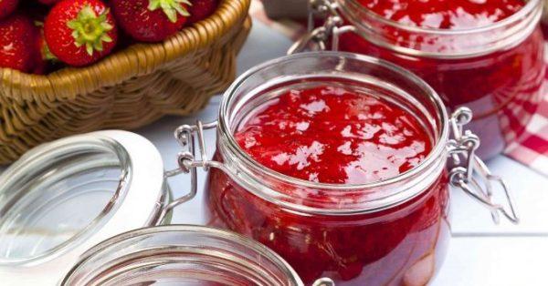 μαρμελάδα φράουλα συνταγη