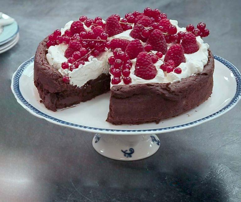 Κέικ σοκολάτα χωρίς αλεύρι