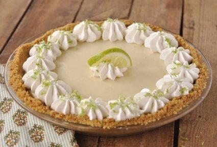 Δροσερό τσιζκέικ λεμόνι (Key Lime Pie)-featured_image
