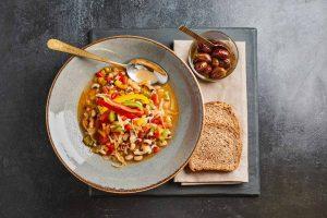 φασόλια μαυρομάτικα σούπα με λαχανικά συνταγη φασολαδα αργυρω