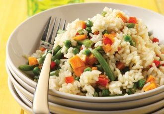 ρύζι με λαχανικά συνταγή