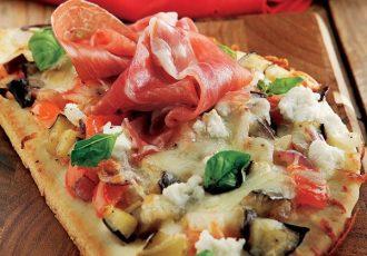 πίτσα προσούτο