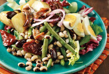 Φασολάκια σαλάτα με αντζούγιες-featured_image