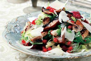 μανιτάρια σαλάτα