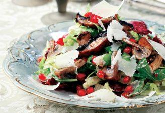 Ζεστή σαλάτα µανιταριών-featured_image