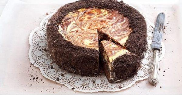 Τσιζκέικ brownies λαχταριστό της Αργυρώς