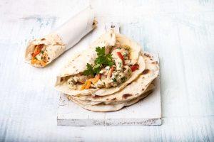 αραβικη πιτα σπιτικη συνταγη