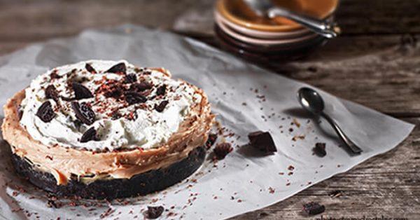 banoffee pie με μπισκότο