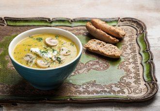 βελουτέ σούπα λαχανικών της Αργυρώς