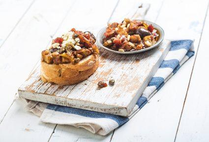 Καπονάτα μελιτζάνας (Caponata Siciliana)-featured_image
