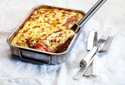 Κανελόνια με κιμά κοτόπουλου και εύκολη κρέμα τυριού-featured_image