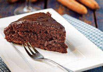 κέικ κακάο με καρότο