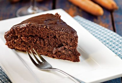 Κέικ κακάο µε καρότο και κρέµα σοκολάτας-featured_image