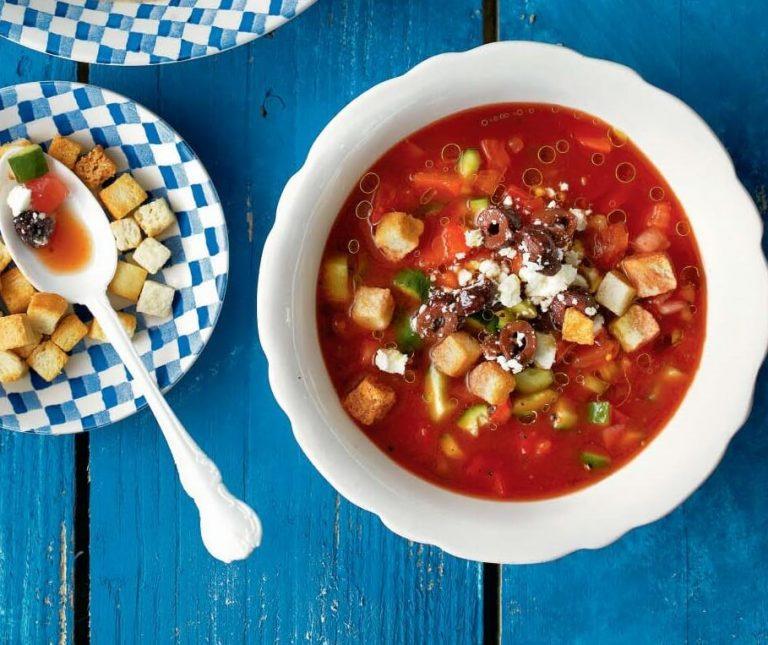Κρύα σούπα ντομάτας