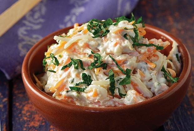 Λαχανοσαλάτα με μαγιονέζα (Coleslaw)