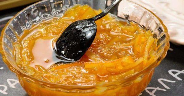 μαρμελάδα πορτοκάλι με κομμάτια πορτοκαλιού συνταγη