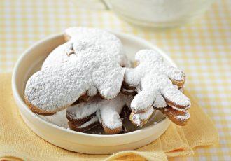 μπισκότα γεμιστά με καραμέλα