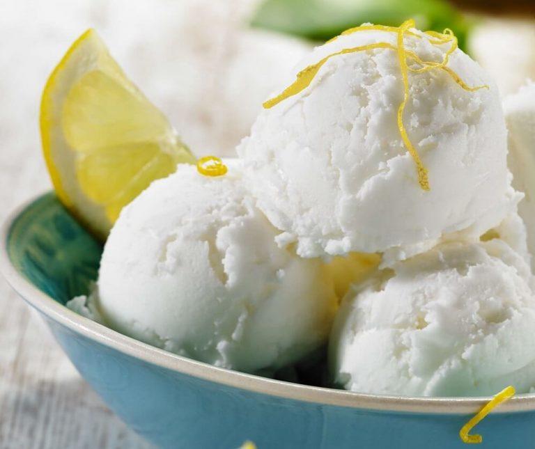 Φανταστικό παγωτό λεµόνι