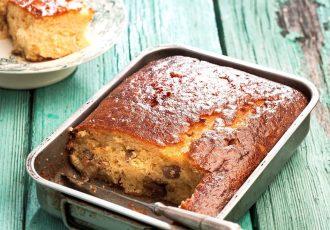 παραδοσικαή γιαουρτόπιτα κέικ συνταγη
