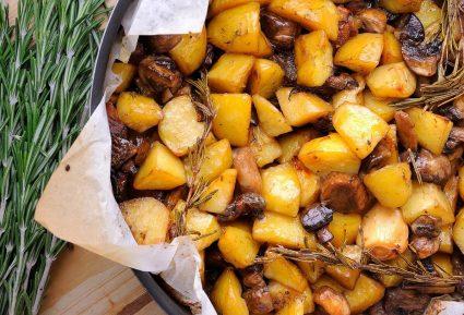 Πατάτες με μανιτάρια στο φούρνο της Αργυρώς-featured_image