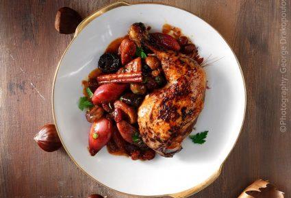 Πικάντικο κοτόπουλο με αποξηραμένα φρούτα-featured_image