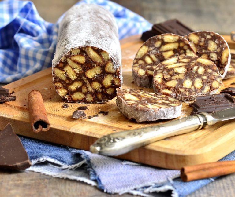 Γλυκό σαλάμι σοκολάτας