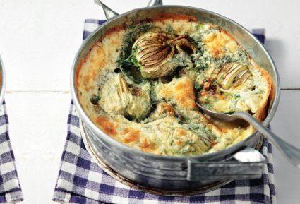 Σφουγγάτο με κολοκυθοανθούς και καλοκαιρινά λαχανικά-featured_image
