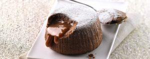 κέικ λάβα σοκολάτας σουφλέ