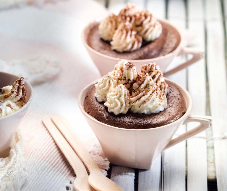 Σουφλέ cappuccino