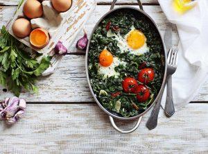 Σπανάκι µε αυγά στο φούρνο-featured_image