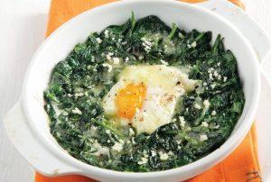 Σπανάκι σοτέ µε αυγά-featured_image