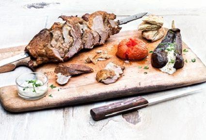 Γύρος σπιτικός μαριναρισμένος με ψητά λαχανικά-featured_image
