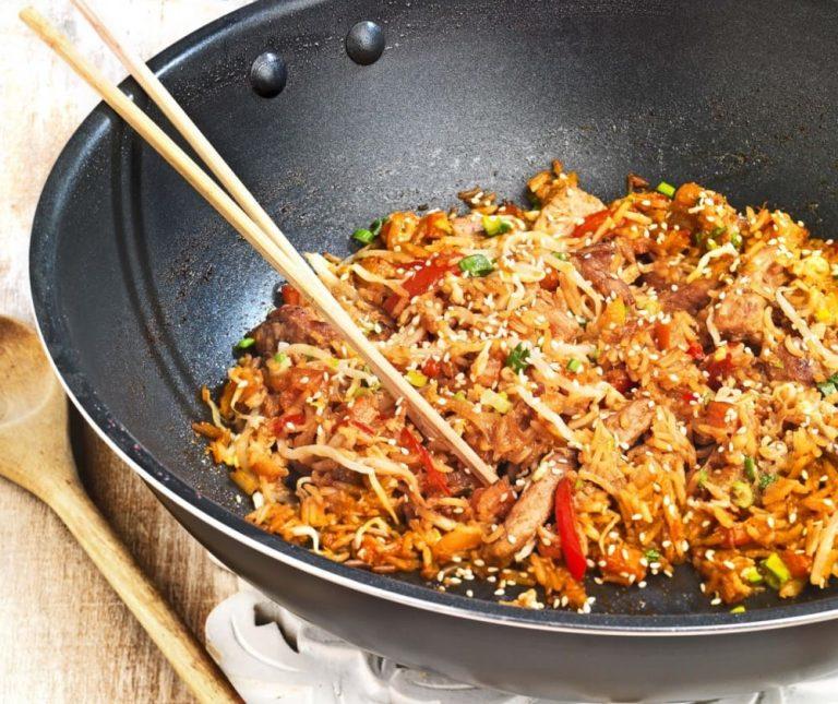 Ρύζι στο τηγάνι