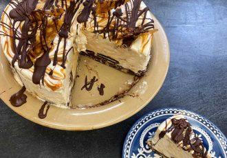 τούρτα παγωτό με μωσαϊκό