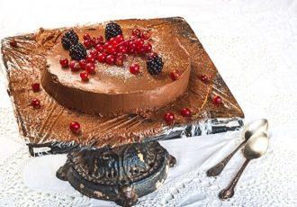 εύκολη τούρτα σοκολάτα
