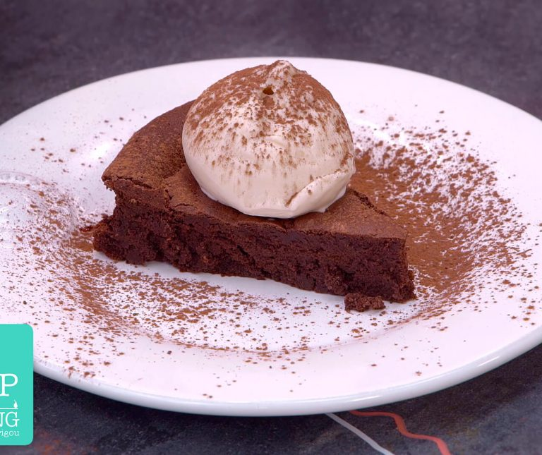 Truffle Cake χωρίς γλουτένη