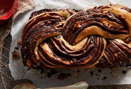 Μπάμπκα (Τσουρέκι) με σοκολάτα-featured_image