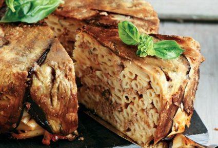 Μακαρονόπιτα με μελιτζάνες-featured_image