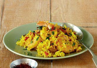 γαρίδες με ρύζι πιλαφι συνταγη αργυρω