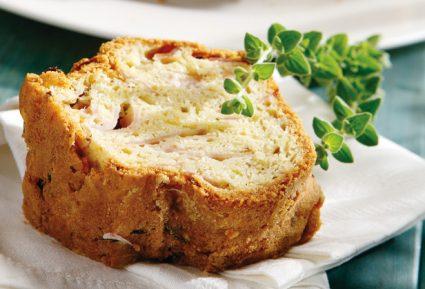 Αλμυρό κέικ με κασέρι και ζαμπόν-featured_image